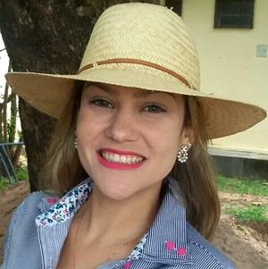 Fabíola Gomes, repórter do programa É Bem Mato Grosso (Foto: Arquivo Pessoal)
