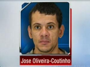 José Carlos Oliveira Coutinho foi condenado pela mortes de três brasileiros nos EUA (Foto: Reprodução)