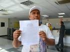 Eleitor diz que foi agredido por deputado (Dyepeson Martins/G1)