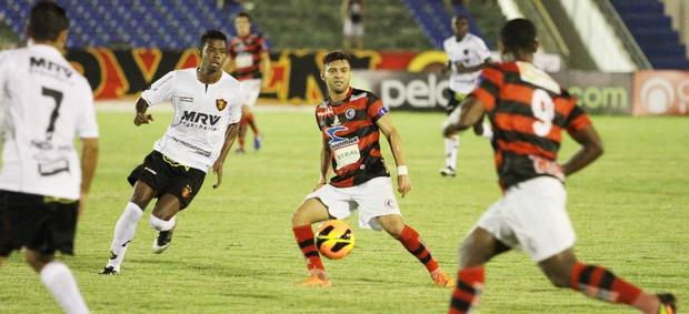Campinense 0 x 0 Sport - Copa do Nordeste (Foto: Magnus Menezes / Jornal da Paraíba)