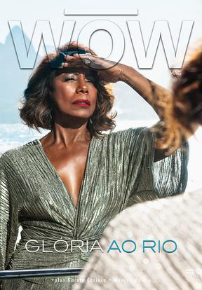 Glória Maria (Foto: Brunno Rangel/ Revista WOW)