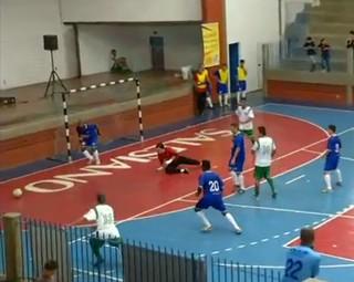Jogo entre Resende e Barra Mansa terminou empatado  (Foto: Reprodução Bom Dia Rio)