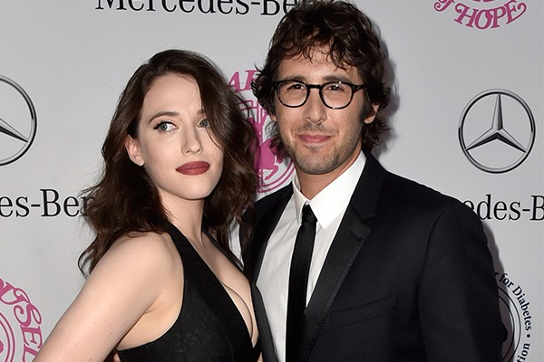 Kat Dennings e Josh Groban (Foto: Getty Images)