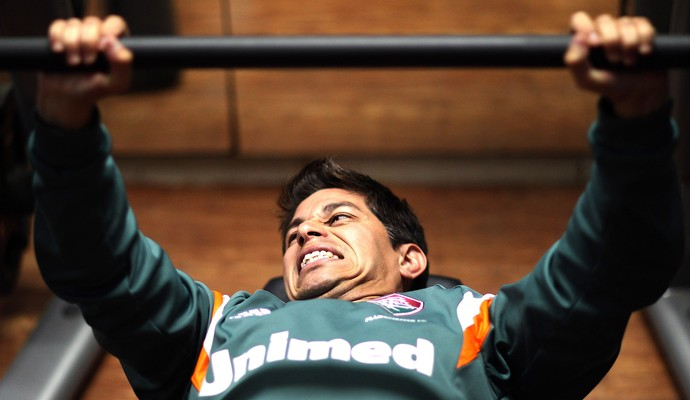 Conca Treino academia Fluminense (Foto: Nelson Perez / FFC)