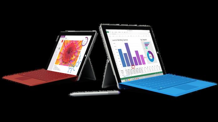 Surface 3 e Surface Pro agora estão mais parecidos (Foto: Divulgação/Microsoft)