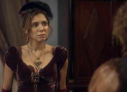 Dulcina vai atrás de Pedro, mas Leopoldina a surpreende