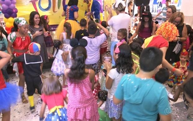 Carnaval para crianças é realizado em Boa Vista (Foto: Roraima TV)