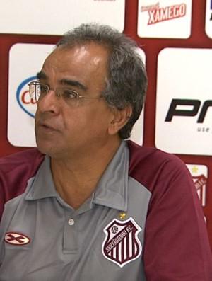 Wantuil Rodrigues, técnico do Sertãozinho (Foto: Valdinei Malaguti / EPTV)