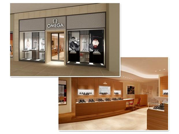 Perspectiva da nova loja da Omega em São Paulo (Foto: Divulgação)