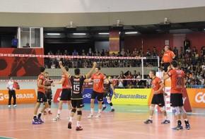 Sesi-SP venceu o Caramuru sem grandes dificuldades (Foto: Raphael Amoroso/Sesi-SP)