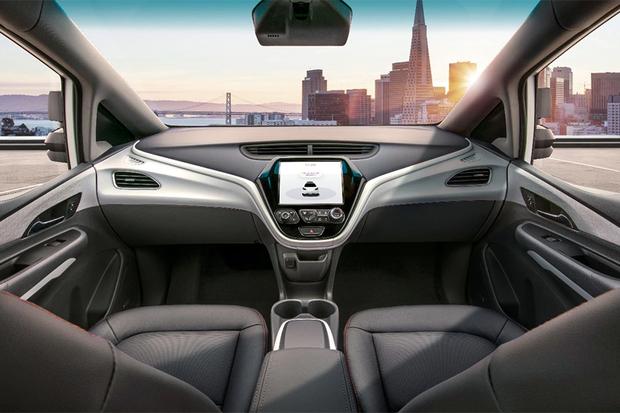 Interior do protótipo do Cruise AV, da GM (Foto: General Motors)