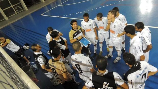 Equipe do Rio Branco Futsal será indicada para a disputa da Liga Sudeste em agosto (Foto: Divulgação/Rio Branco Futsal)