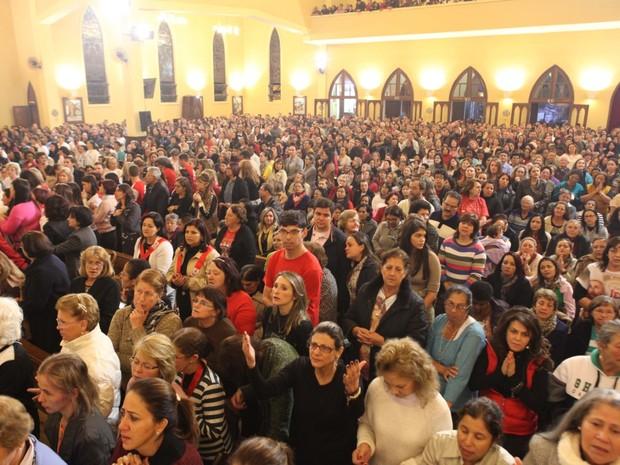 Milhares de fiéis participaram das '24 Horas de Oração', em 2015 (Foto: Divulgação)