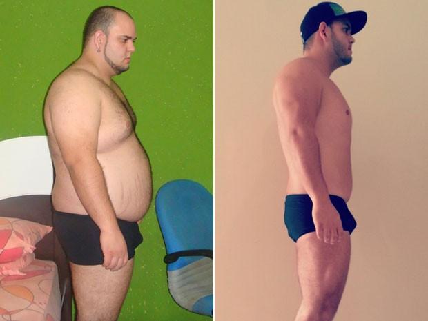 O analista de sistemas Cyro Duarte emagreceu cerca de 50 quilos (Foto: Arquivo pessoal/Cyro Duarte)
