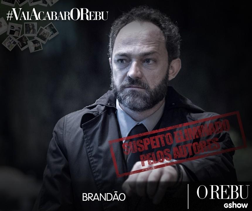 Brandao (Foto: O Rebu / TV Globo)