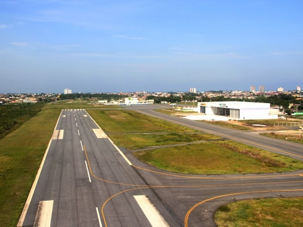 Pista do aeroporto de Itanhaém será ampliada para 1.550 metros (Foto: Divulgação / Prefeitura de Itanhaém)