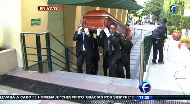 Cortejo de Roberto Gómez Bolaños (Foto: Reprodução/Televisa)