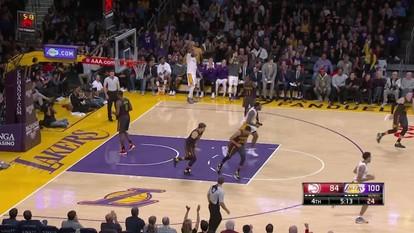 Melhores momentos de Atlanta Hawks 94 x 109 Los Angeles Lakers pela NBA