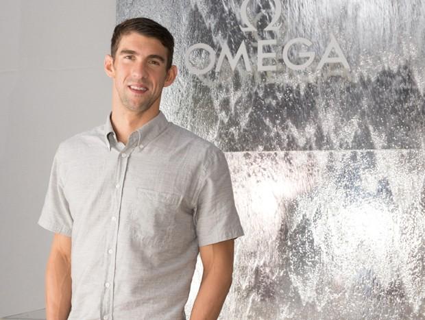 Michael Phelps em festa da Casa Omega, no Rio (Foto: Divulgação)