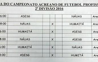 Independência está fora da Segundona, que terá três times; tabela