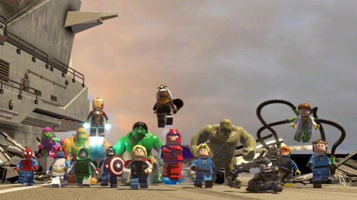 Confira métodos e cheats para desbloquear personagens em LEGO Marvel Super Heroes (Foto:  N2G) (Foto: Confira métodos e cheats para desbloquear personagens em LEGO Marvel Super Heroes (Foto:  N2G))
