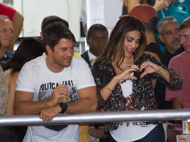 Juliana Paes e Carlos Eduardo Batista (Foto: Divulgação/Alex Nunes)