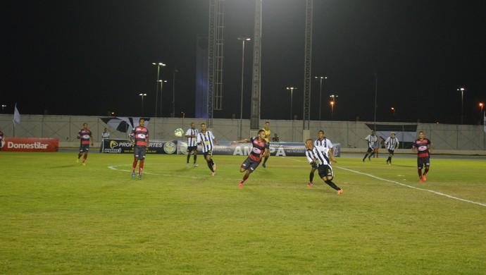 Trem x Santos-AP; primeiro jogo; final Amapazão 2015 (Foto: Gabriel Penha/GE-AP)