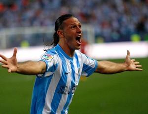Demichelis malaga gol sporting gijon (Foto: Agência Reuters)