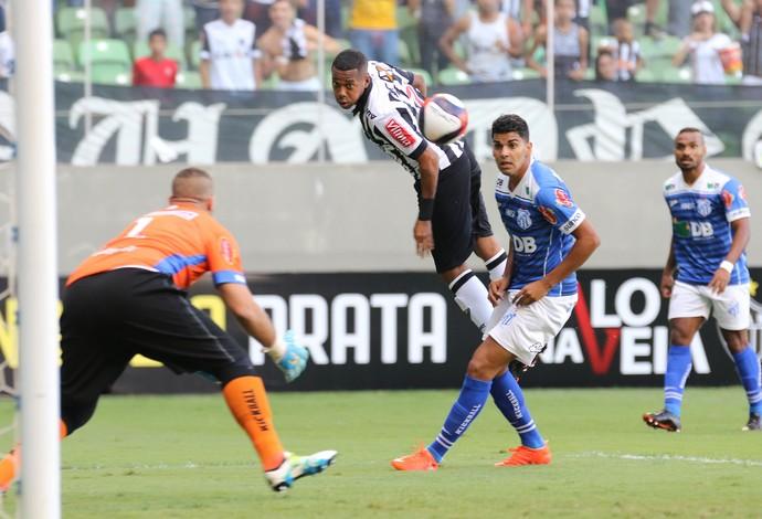 Robinho; Atlético-MG; Rodolfo; URT (Foto: Bruno Cantini/Atlético-MG)