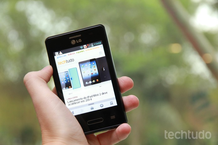Optimus L3 2 (Foto: TechTudo)