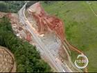 Internauta faz vídeo da detonação de rochas na rodovia dos Tamoios; veja
