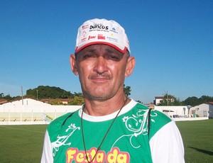 Chicão Jaguar é o novo técnico do Sabiá (Foto: Divulgação/Mano Santos)