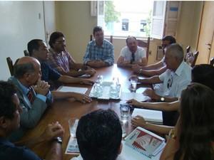 Reunião marca data para discutir pauta de reinvindicações (Foto: Prefeitura/Divulgação)
