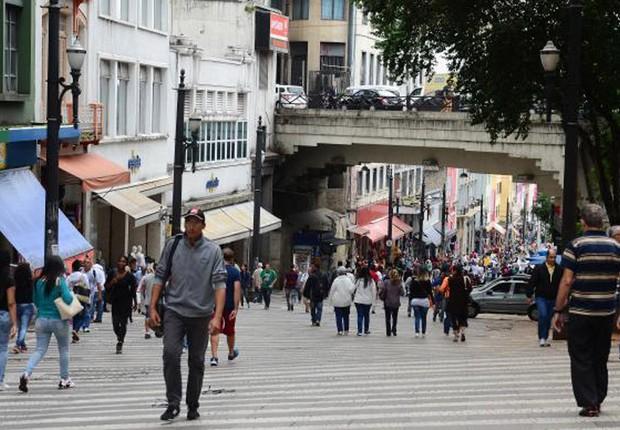 População do Brasil ; desemprego ; população brasileira ; nível de atividade ; São Paulo (Foto: Rovena Rosa/Agência Brasil)