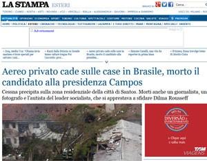 Jornal italiano aponta que Marina desistiu de viajar na última hora. (Foto: Reprodução)