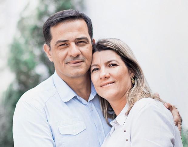 Sandro e Ana Paula: ter um filho abalou profundamente a vida sexual (Foto: Ricardo Toscani)