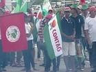 Trabalhadores rurais pedem perdão de dívidas e fecham BR-259, no ES