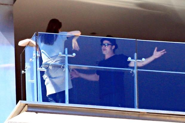 Angelina Jolie e Brad Pitt (Foto: AKM-GSI/ Agência)