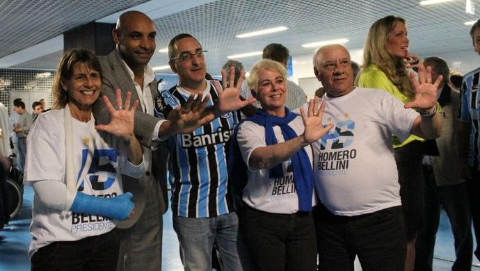 Homero Bellini reúne sócios e torcedores na Arena (Foto: Júlia Resende / DVG)
