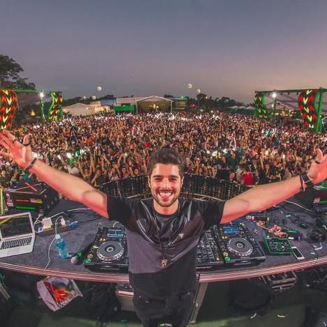 DJ Alok (Foto: Alisson Demetrio)