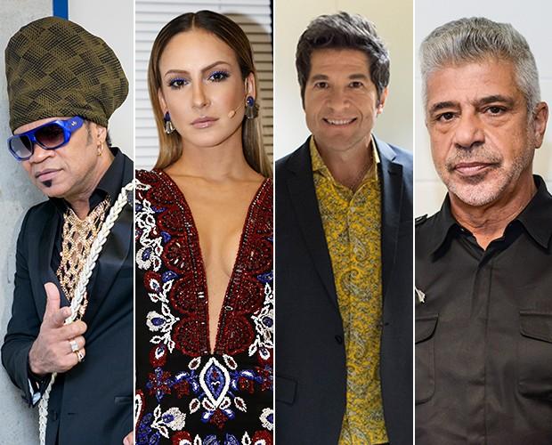 Técnicos avaliam fim de mais uma fase no The Voice Brasil (Foto: Isabella Pinheiro/Camila Serejo/Gshow)