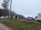 Polícia registra interdições em BRs de Minas Gerais nesta quarta-feira