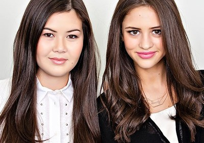 Julianne Goldmark e Emily Matson, fundadoras da marca Emi-Jay (Foto: Divulgação)