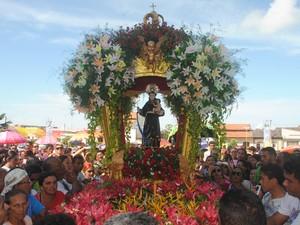 Círio de Santo Antônio é marcado por homenagens (Foto: Divulgação/Secretaria de Cultura de Alenquer)