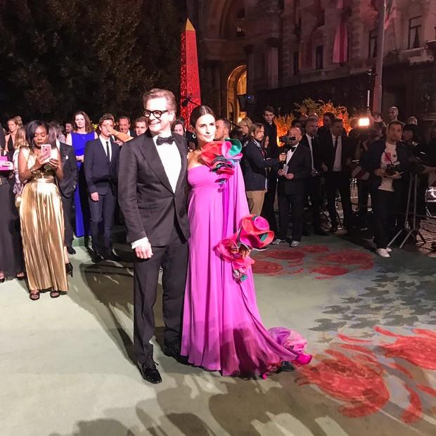 Livia e Collin Firth (Foto: Bárbara Migliori)