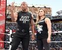 Curtinhas: ator e estrela do WWE, The Rock pensou em lutar pelo UFC