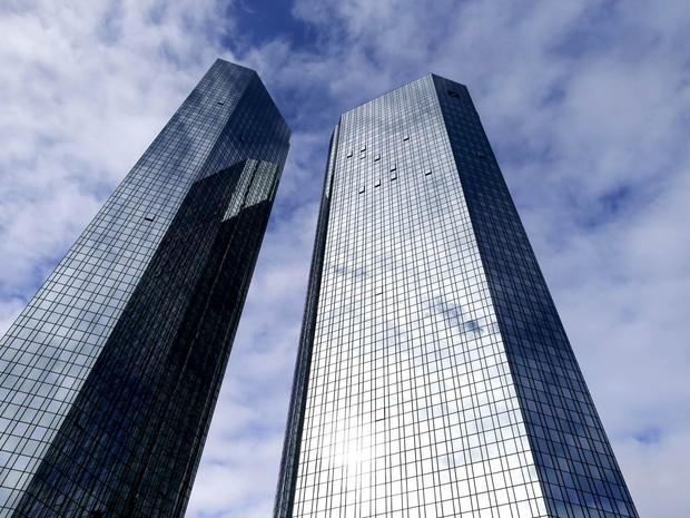 Sede do Deutsche Bank na Alemanha (Foto: Ralph Orlowski/Reuters)