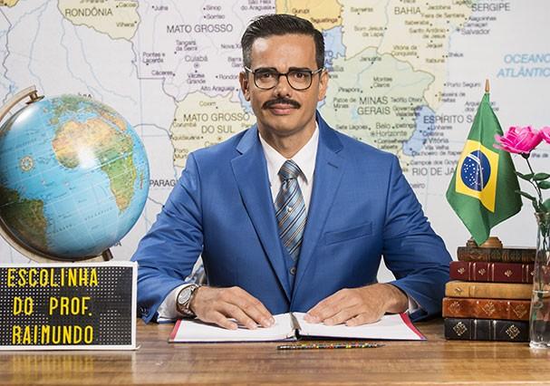 Otaviano Costa como Ptolomeu Pitágoras (Foto: TV Globo)