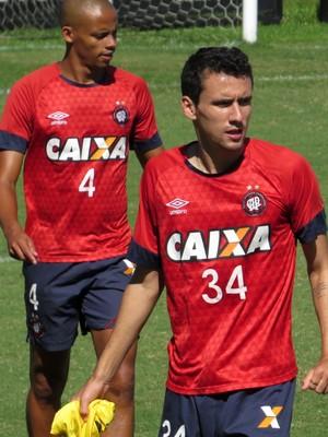 Atacante Pablo Atlético-PR (Foto: Fernando Freire)