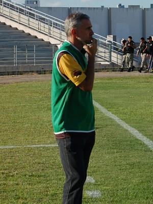 Jorge Luís, técnico do Paraíba de Cajazeiras (Foto: Iago Bruno / GloboEsporte.com/pb)